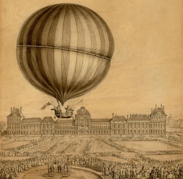 Картинки воздушных шаров в небе